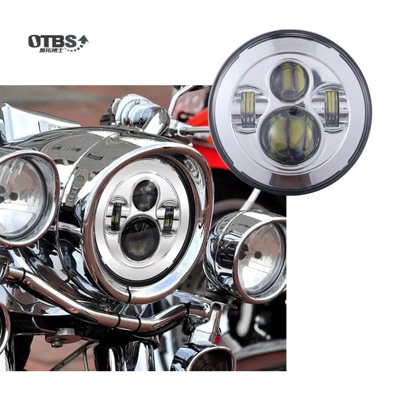 7 Inch Motorcycle Projector Hi/Lo LED Light Bulb Headlight For Harley harley davidson headlight price