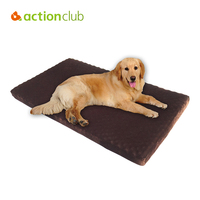Actionclub Large Dog Beds High Quality Plus Size Dog House Memory Foam Material With emovable Cover and Liner (Fedex & 2-7 Days)
