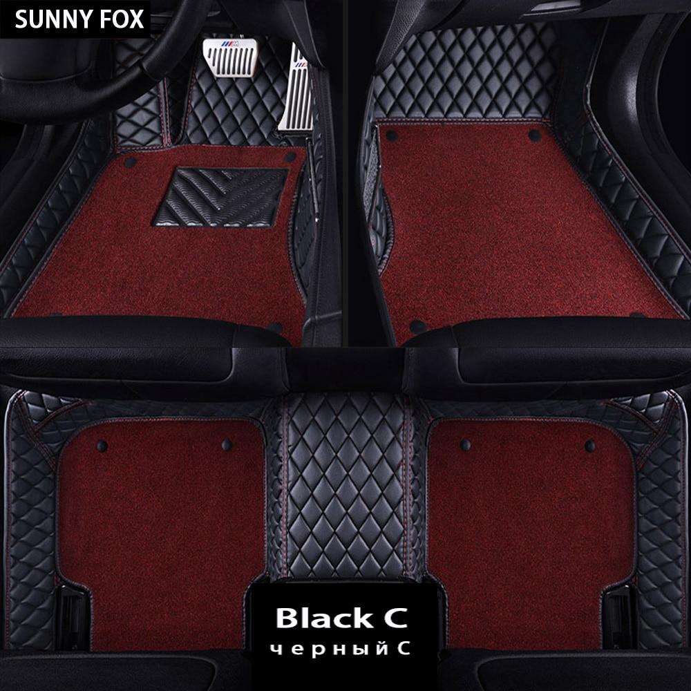Tapis de sol de voiture pour Subaru Forester Legacy Outback Tribeca XV 5D revêtement de sol de tapis résistant à tous les temps