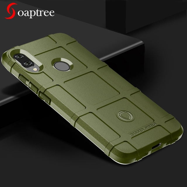 Rugged Shield Silicone Cases For Xiaomi Redmi Note 7 6 5 Pro Plus