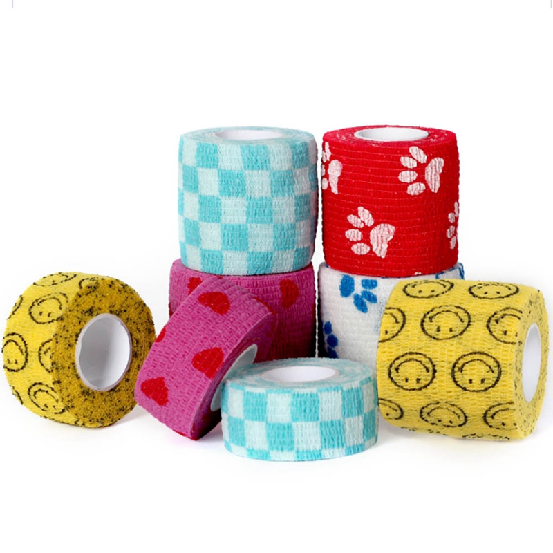 1 Pc Tape Waterproof Self Adhesive Elastic Bandage Muscle Tape Finger Joints Wrap Therapy Bandage Care 2 Sizes