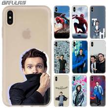 spider man Tom Holland Case for iphone X