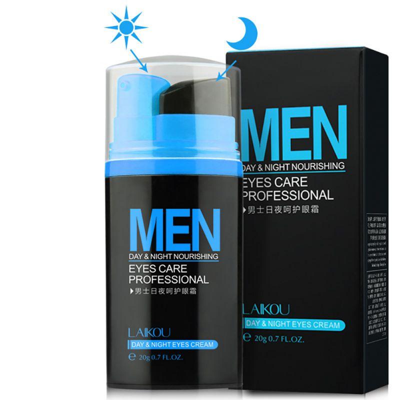 Men Day&Night Anti-wrinkle Eye Cream Remove Black Eye Circle Puffiness Wrinkles Eye Cream 20g