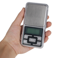 MH Series 500g / 0.1g Cellphone Mini Pocket Electronic Digital Scale Measuring Tool with Blue Backlight Display