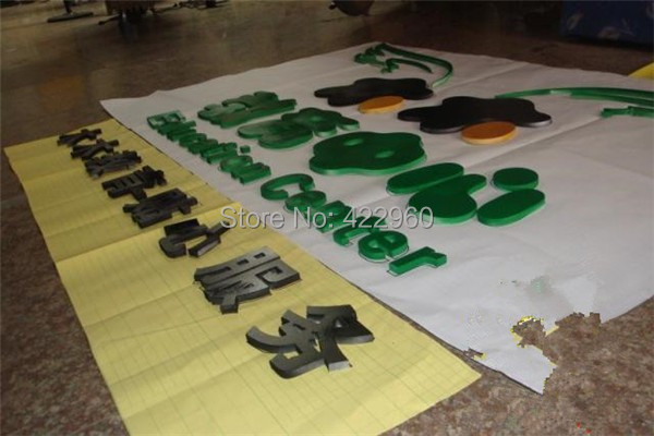 High Quality Laser Cut Painted 9mm Thick PVC Alphabet Letters Acrylic Alphabets