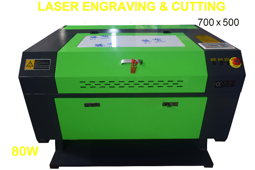 80W Laser Engraver Engraving Machines 700x500mm with Rotary Axis + Water Chiller best 80W Laser Engraver Engraving Machines 700x500mm with Rotary Axis + Water Chiller best