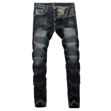 2019 New Italian Style Fashion Men Jeans High Quality Slim Fit Frayed Hole Ripped Jeans For Men Clothing Denim Biker Jeans Pants orinery high quality printed jeans men 2017 new arrival brand clothing trousers straight denim biker jeans fashion pants