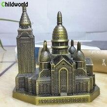 Paris Notre dame home Decoration Accessories Desk Zinc Alloy Crafts ornaments interior decor miniature figurines