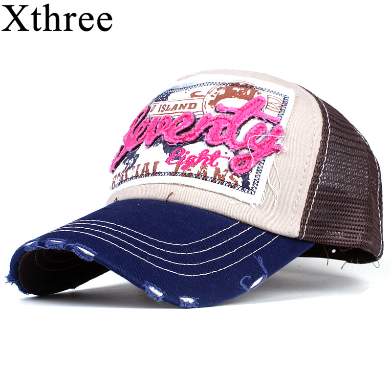 Xthree fashion mesh baseball cap for women men's summer cap snapback Hat for men bone gorra casquette fashion hat xthree fashion mesh baseball cap for women men s summer cap snapback hat for men bone gorra casquette fashion hat