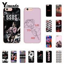 Yinuoda 5Sos band YOUNGBLOOD 5 Seconds of Summer DIY Painted Phone Case for iPhone 5 5Sx 6 7 7plus 8 8Plus X XS MAX XR Fundas 5 seconds of summer 5 seconds of summer youngblood
