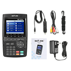 SATLINK WS-6916 Digital Satellite Finder Digital Satellite TV Receiver Meter HD Satellite Signal Finder + Carrying Pouch Strap