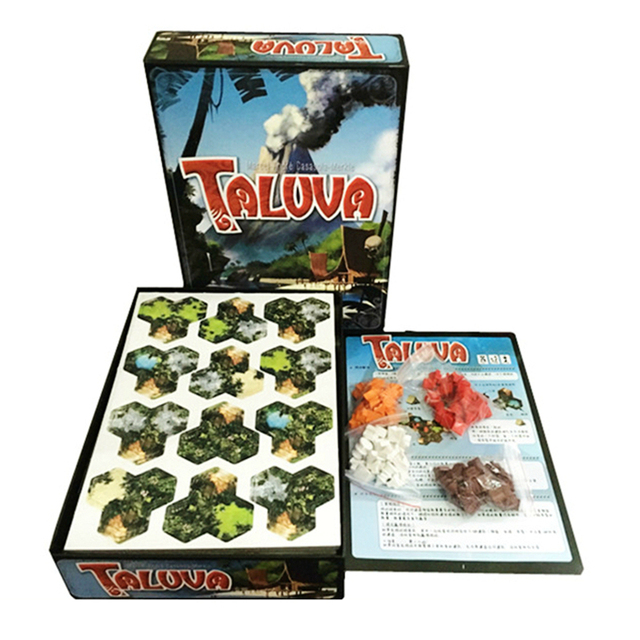 Taluva Board Tactic Game