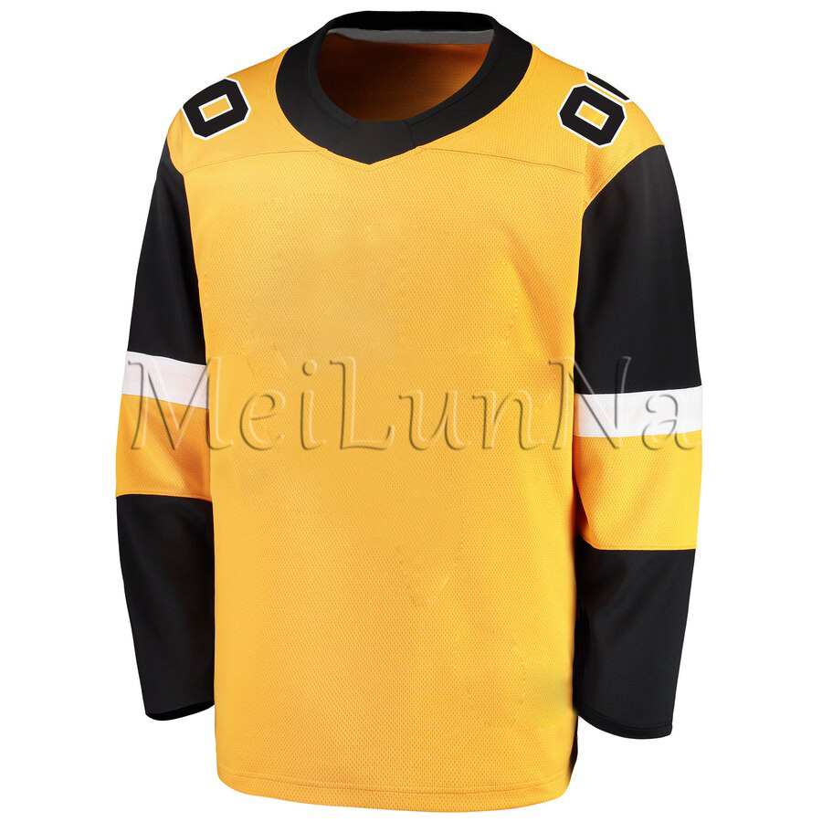 Sidney Crosby Kris Letang Malkin Lemieux Guentzel Hornqvist Men Women Youth Pittsburgh Stadium Series Gold Alternate Jerseys