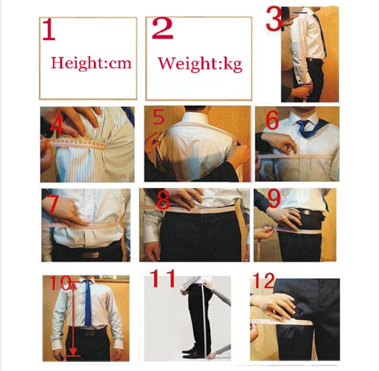 Dark Champagne Slim Fit Suit Men Double Breasted Mens Casual Tuxedo Suits Custom Trajes De Hombre 2 Piece Ternos Jacket Pants in Suits from Men 39 s Clothing