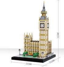 Blocs de construction, 3600 pièces, série architecturale londonienne, Big Ben à assembler, blocs de construction, briques compatibles avec toutes les marques