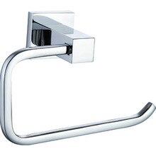 Современный туалетной бумаги держатели вешалка латунь хром серебристый настенные туалет мебель комплект для ванной комнаты GJML8511
