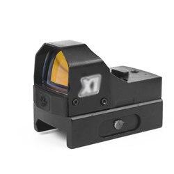 Portée de visée de point rouge de clavier numérique mini portée de chasse de réflexe de Mirco pour la lunette de visée optique tactique de vue de collimateur d'airsoft de pistolet