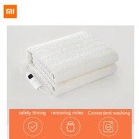 Qindao inteligente remover ácaros cobertor elétrico segurança cronometragem controle de temperatura inteligente lavagem conveniente