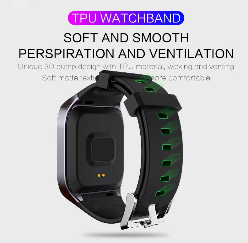 KSUN KS58 pulsera inteligente banda con Monitor de ritmo cardíaco 10