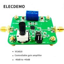 VCA Module Voltage Control Gain Amplifier VCA810 Adjustable Gain -40dB to +40dB Electronic Race Module Genuine broadband agc bandwidth maximum 150m vca810 40db to 40db automatic control manual program controlled