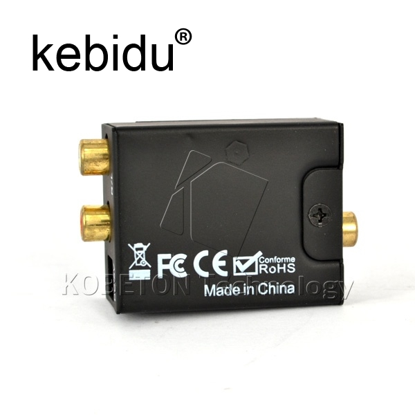Kebidu og to Digital Audio Converter, Coax RCA Toslink Audio ... on audio cable, audio editing software, audio coding 3, audio files, audio playlist, audio maker,