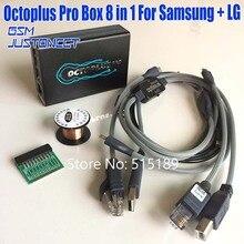 Новая версия оригинальный octoplus Pro box 8 в 1 компл. (5 кабель + eMMC/JTAG активированный + медный провод) для samsung для LG активированный