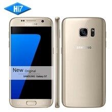 Новый оригинальный Samsung Galaxy S7 смартфон 5.1 дюймов 4 ГБ Оперативная память 32 ГБ Встроенная память Octa core NFC GPS 12MP 4 г LTE Водонепроницаемый мобильного телефона