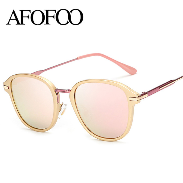 a82b4270dd9 AFOFOO Fashion Polarized Sunglasses Luxury Brand Designer Vintage Women  Mirror Sun glasses Retro Men UV400 Shades Eyewear