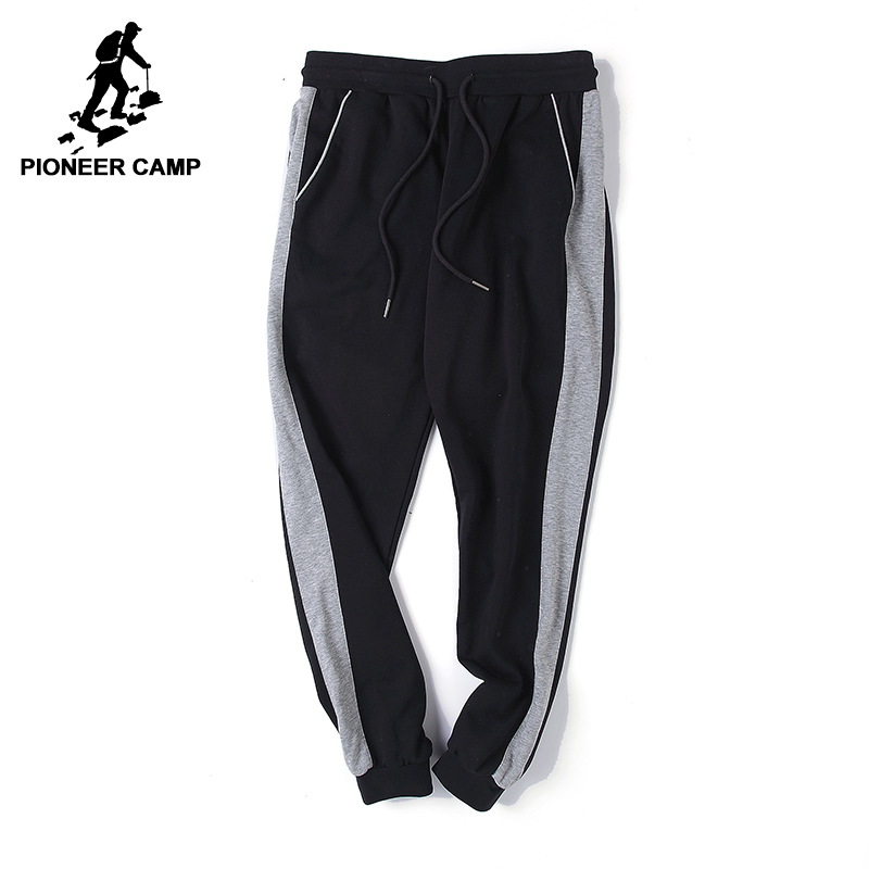 Pioneer Camp 2018 New Spring sweat pants men brand-clothing fashion joggers pants male top quality casual trousers AWK702167