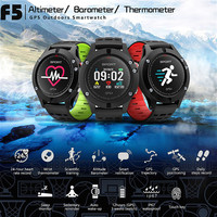 2018 NEW F5 GPS Smart Watch Altimeter Barometer Heart Rate Monitor Sport Smart Watch Waterproof Wearable
