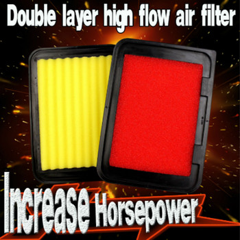 1x Double layer Car Air Filter Auto High Flow Air Filter Super Hybrid Air Filters for TOYOTA AVENSIS 2.0 1.8 1.6 2009-2016