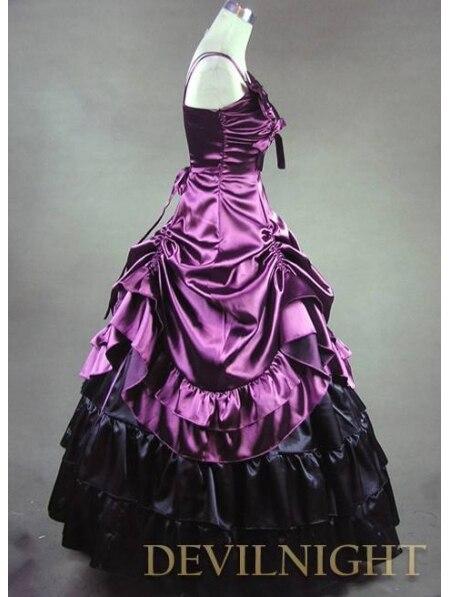 Victorien Victorien Lavande Gothique Pourpre Gothique Robe Pourpre Robe xw4z8Zv