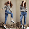 Casual Women Elastic Jeans Woman Loose Harem Pants 2017 Women Jeans Pants Plus Size Jeans For Women XL Jeans Elastic
