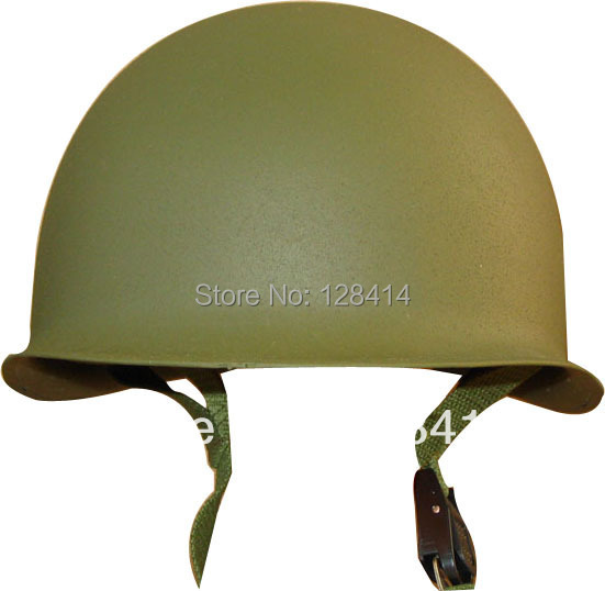 MILITECH USA M1 Steel Helmet Replica Helmet WW2 American M1 Steel Helmet World War 2 Collection Motorcycle Safety Helmet Repro replica bm20 10x20 5x120 d74 1 et40 shb