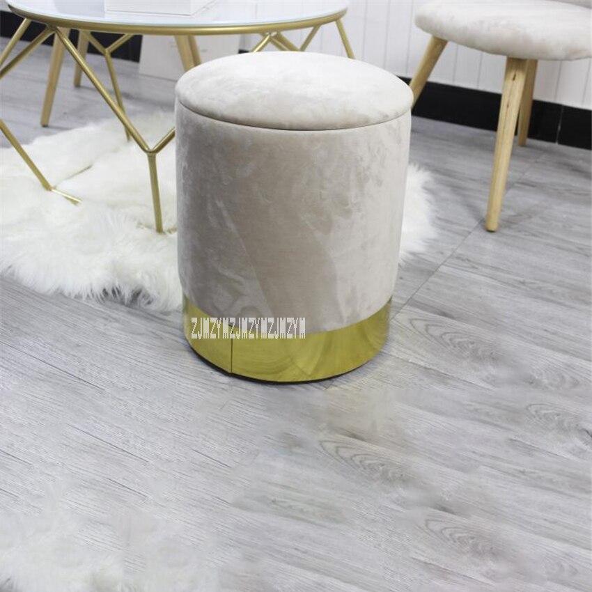 Modern Round Sofa Makeup Stool Creative Fashion Tea Table ...