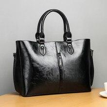 0efcc3d15e671 2019 luksusowe casual tote torby czarne torebki kobiet znanych marek duża  torba na ramię kobiet hobo duża pojemność kobiety mess.