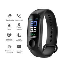 M3 Smart Band Waterproof Fitness Tracker VS Plus Bracelet Blood Pressure Heart Rate Monitor PK Mi 3
