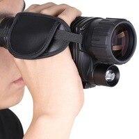 Охота ночное видение прицел Монокуляр устройства Оптика Тактический Цифровой Инфракрасный бинокль с фонариком