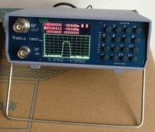 Simple spectrum analyzer UV segment tracking source 136-173MHz 400-470MHz developing library based bacterial source tracking methods