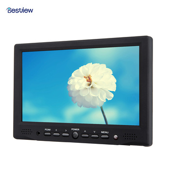 "Bestview 800*480 High-definition Monitor 7"" Digital Field LCD 400cd/m2 HDMI Input for DSLR Full HD Camera"