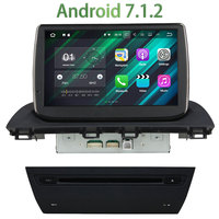 2GB RAM 1 Din Android 7.1.2 Quad core Car Radio Multimedia Stereo Player GPS Navi Touch Display Screen For Mazda 3 Axela 2014