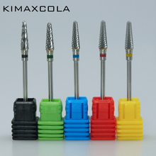 KIMAXCOLA carbide nail drill bit electric file coarse 3/32