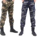 New Winter Europe&American Style Men Fashion Cotton pants Warm&Thicker cargo pants Male Large size camouflage pants