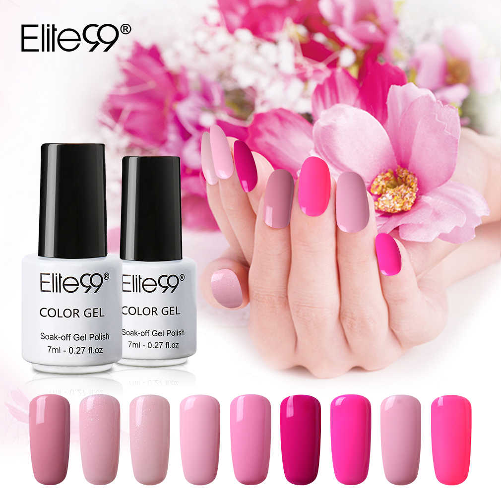 Elite99 Gel Polish Tutto Per Manicure Vernis top coat UV LED Gel Per Unghie Soak Off Unghie artistiche Del Gel Del Chiodo di Base cappotto del Gel di Colore