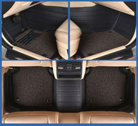 Auto Floor Mats Car Rugs Set Leather Pad Double Layer For ROVER 75 MG TF MG