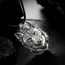 Pendant Necklace Wolf-Head Norse Animal-Jewelry Original 1pcs Tibetan Silver