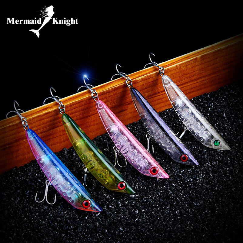 Fishing Lure Bait Swimbait Jerkbait Pencil 85mm 9g Banana Walk  Dog Floating Lures Bass bait luer Floating Pencil Surface Stick