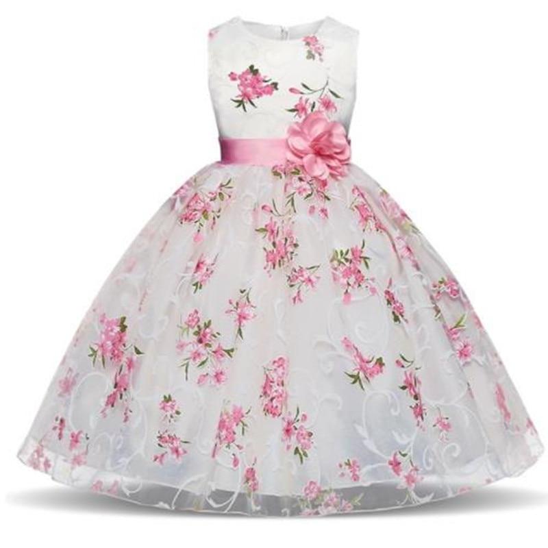 HaoChengJiaDe Kids Clothes Wedding Events   Flower     Girl     Dress   Birthday Party Children Clothing Summer Tutu   Dress   For   Girls     Dresses