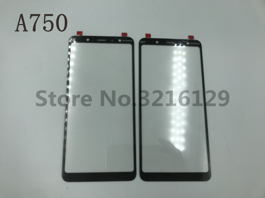 10pcs Original High Quality LCD Front Touch Screen Glass Outer Lens For Samsung Galaxy A8 A750
