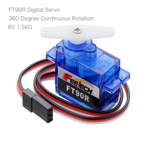 Image 3 - 10pcs Feetech FT90R Servos, 360 Degree Continuous Rotation 9g Micro RC Servo, 6V 1.5KG PWM For Drone Smart Car,Boat, Robot